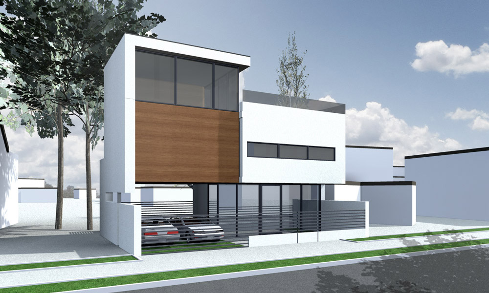 Projekt domu w Międzywodziu