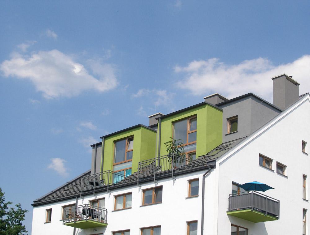 Projekt budynków mieszkalnych - Osiedle Pogodne w Szczecinie