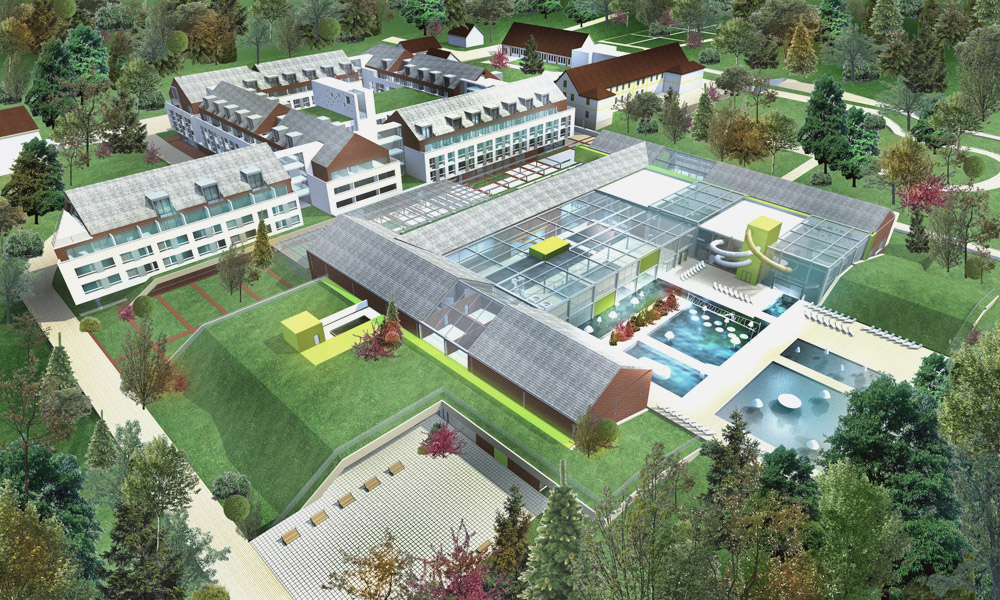 Projekt hotelu z aquaparkiem nad morzem, Trzęsacz, Gmina Rewal