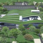 Projekt aquaparku nad morzem, Trzęsacz, Gmina Rewal