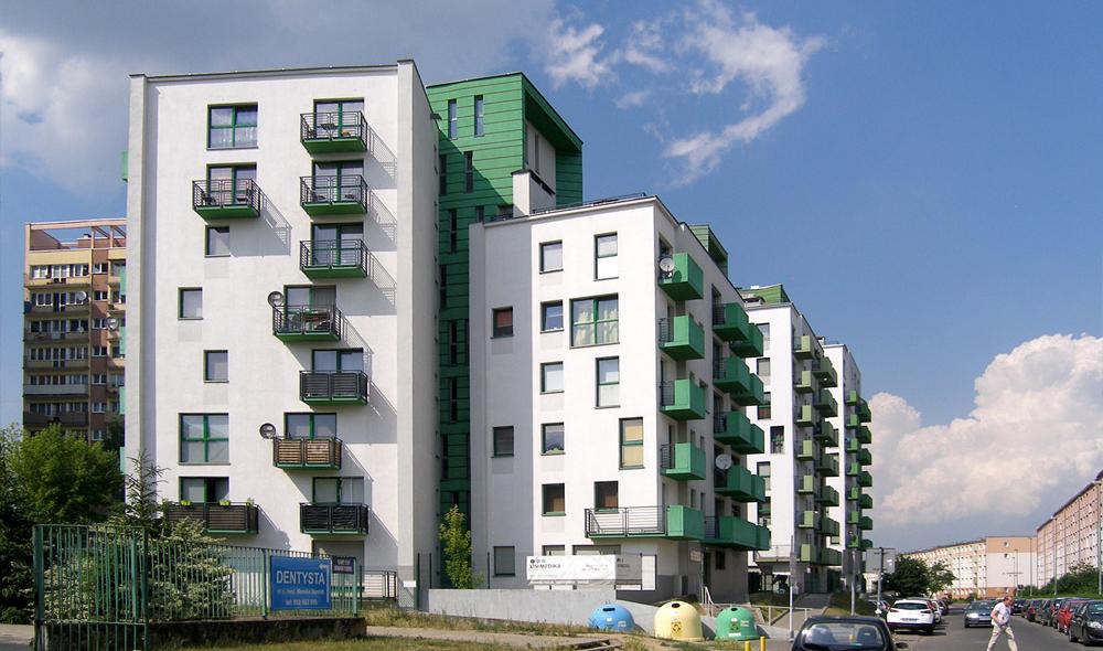 Budynki mieszkalne na Pomorzanach