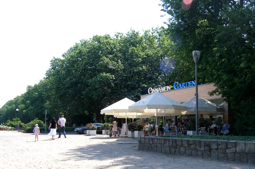 Projekt kawiarni przy Jasnych Błoniach w Szczecinie