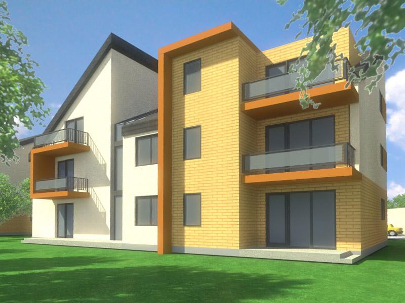 Projekt osiedla mieszkalnego pod Szczecinem