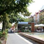 Aleja Fontann w Szczecinie | Projekt pawilonów gastronomicznych