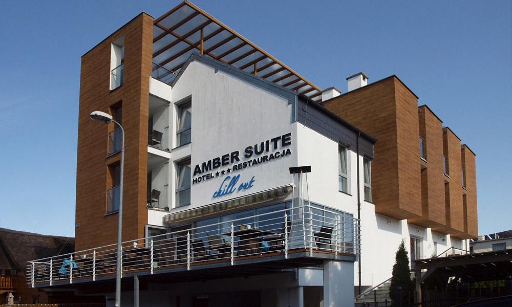 Projekt pensjonatu Amber Suite nad morzem, Międzywodzie, Gmina Rewal
