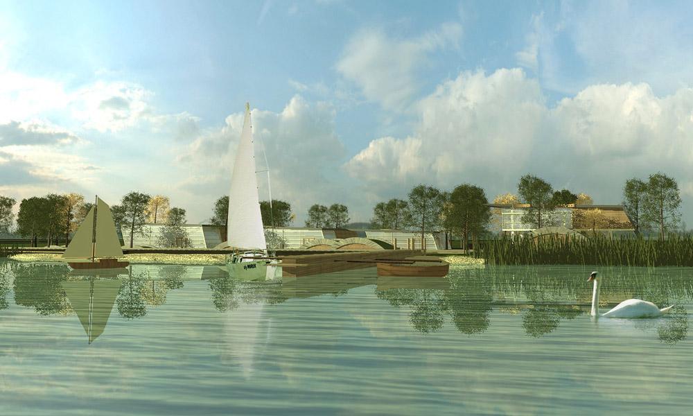 Projekt Przystani Żeglarskiej w Niechorzu