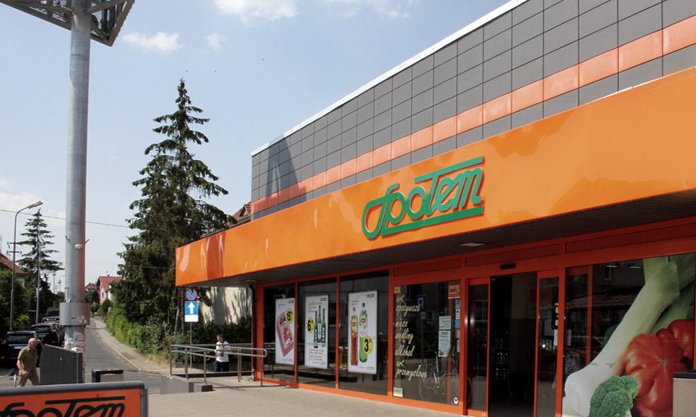 """Projekt sklepu """"SPOŁEM"""" w Szczecinie"""
