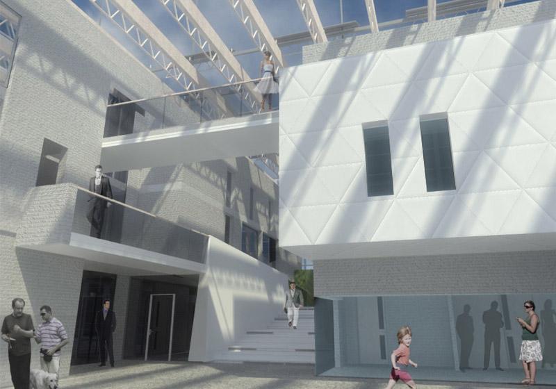 Projekt konkursowy: Urząd Mieski w Rewalu