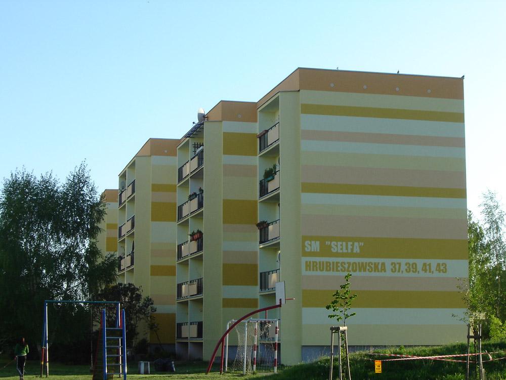 Kolorystyka budynku mieszkalnego, Szczecin