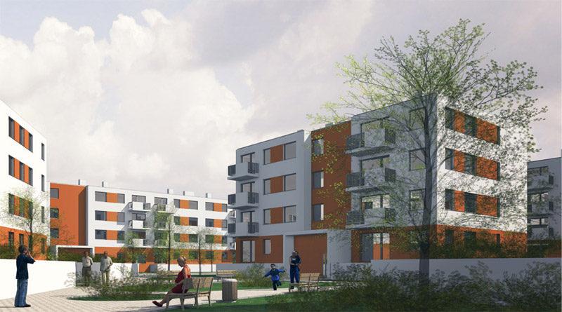 Projekt osiedla mieszkalnego TBS w Poznaniu
