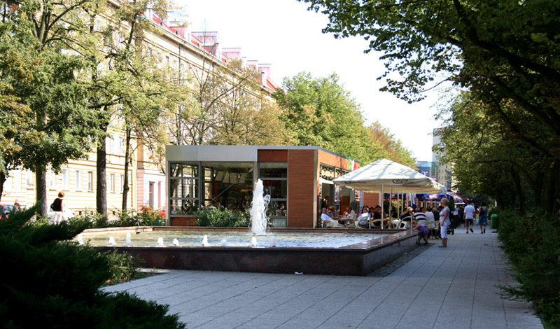 Projekt zagospodarowania Alei Fontann w Szczecinie