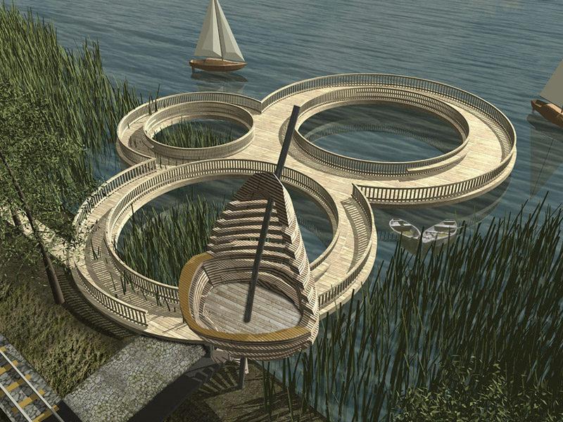 I Nagroda w konkursie na projekt przystani żeglarskiej w Niechorzu