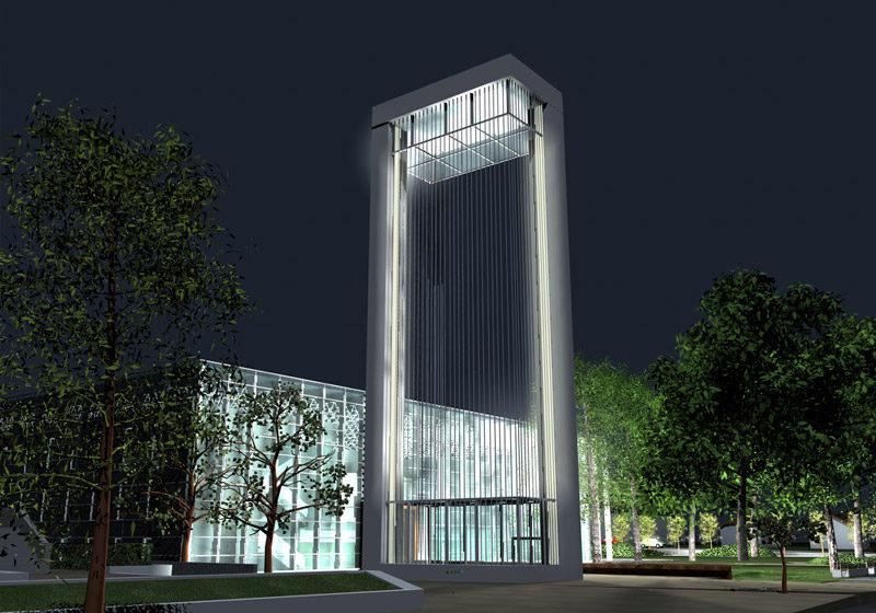 Koncepcja budynku Ratusza w Rewalu