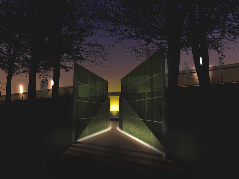 Projekt zagospodarowania przestrzeni publicznej z wyjściem na plażę w Pogorzelicy